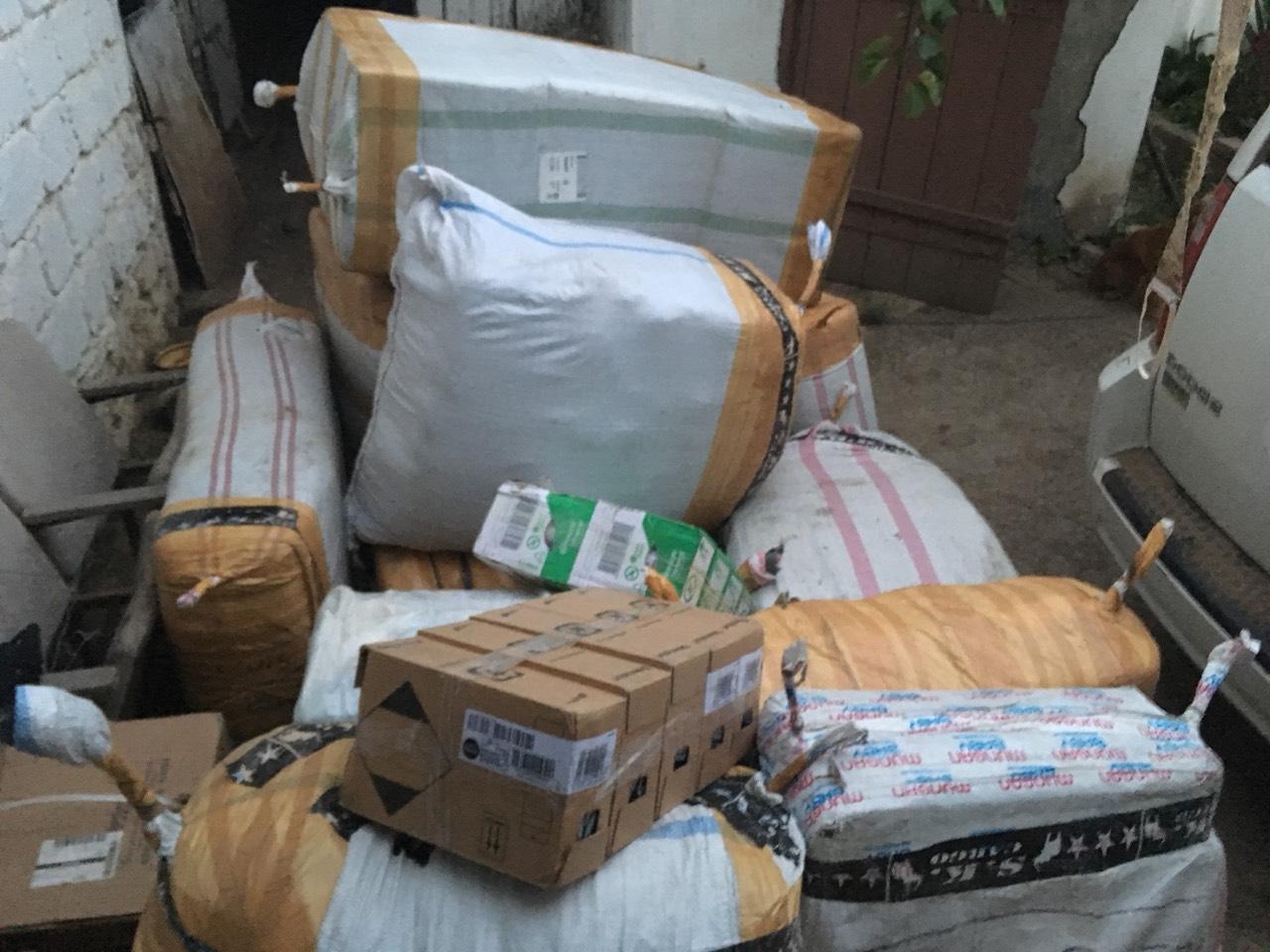 (ФОТО) Молдавские пограничники конфисковали контрабандный товар почти на миллион леев