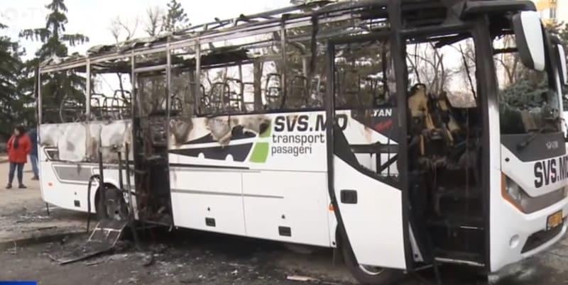 «Это терроризм». Генпрокурор о поджоге автобусов фирмы SVS Auto