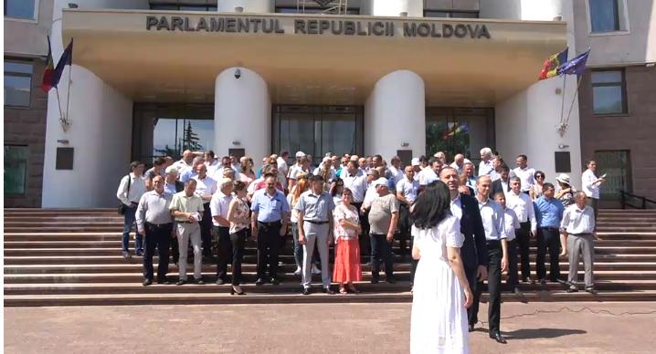 Заявление представителей органов местного публичного управления в поддержку законного парламента и правительства Майи Санду