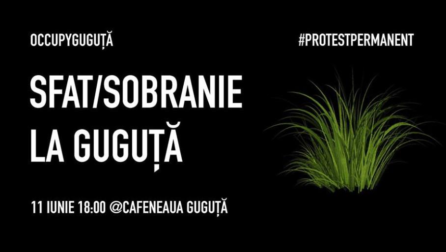 OccupyGuguța организует встречу с гражданами с целью обсуждения политической ситуации в Молдове