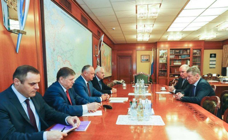 В Москве состоялись переговоры Додона и Козака