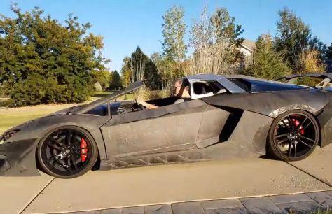 Физик из США сделал реплику Lamborghini из напечатанных на 3D-принтере деталей. За это ему одолжили реальный суперкар