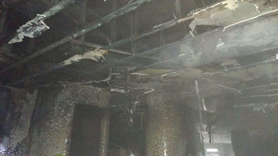 Пожар в сауне фитнес-клуба Кишинева ликвидировали три экипажа спасателей