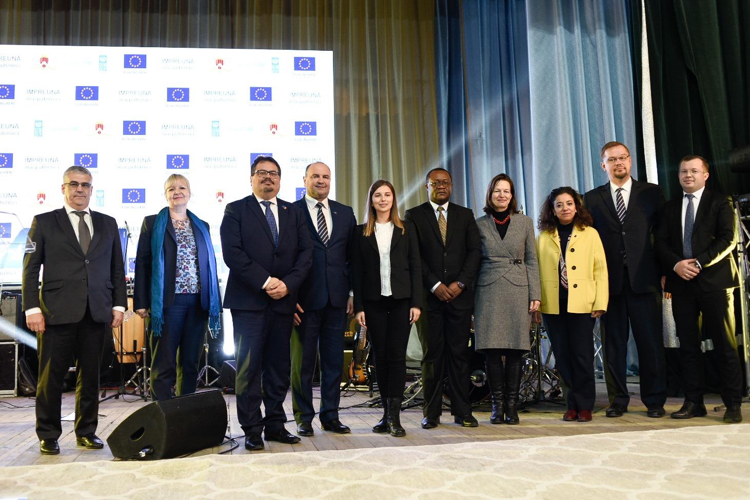 Европейский союз инвестирует 23 миллиона евро в развитие Кагульского и Унгенского районов