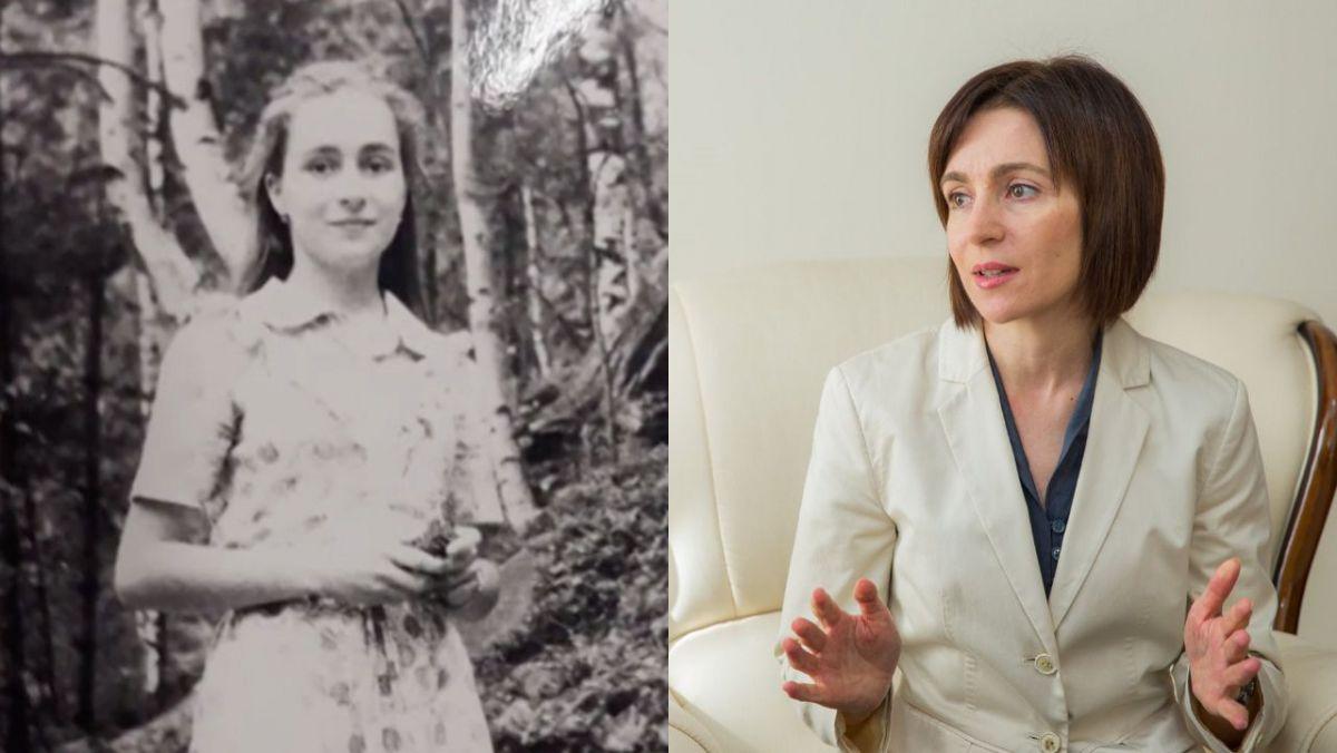 Майя Санду какой вы её ещё не видели. В сети появились детские и юношеские фото молдавского политика