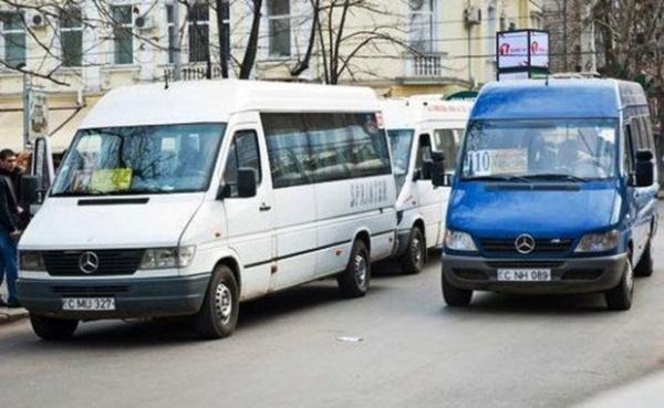 С понедельника 5 рейсов маршруток Кишинева приостановят свою деятельность
