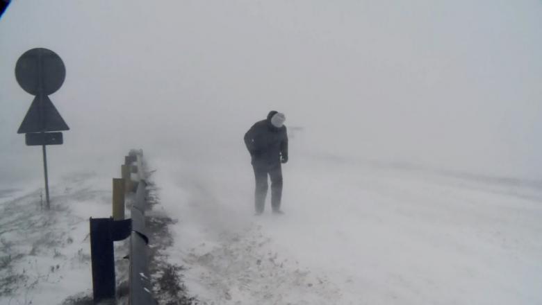 В горных районах Румынии зафиксировали температуру воздуха ниже 30 градусов