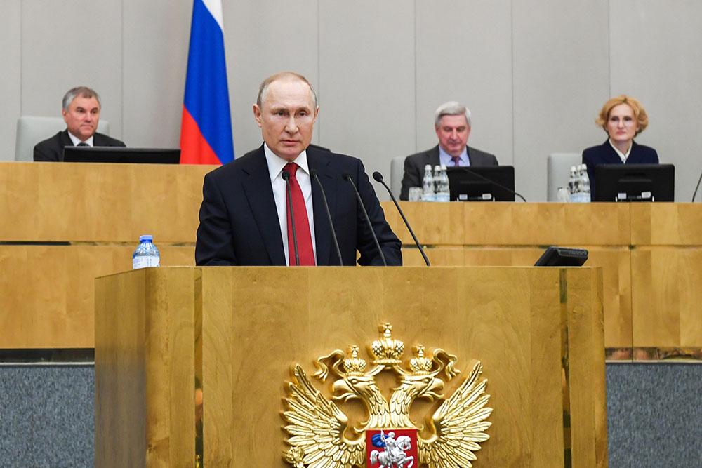 Госдума проголосовала за обнуление президентских сроков