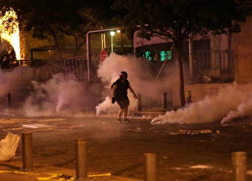 бейрут протест