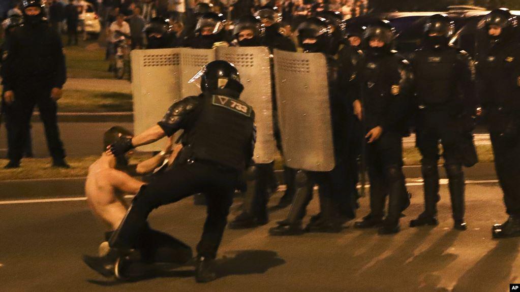 протест в беларуси