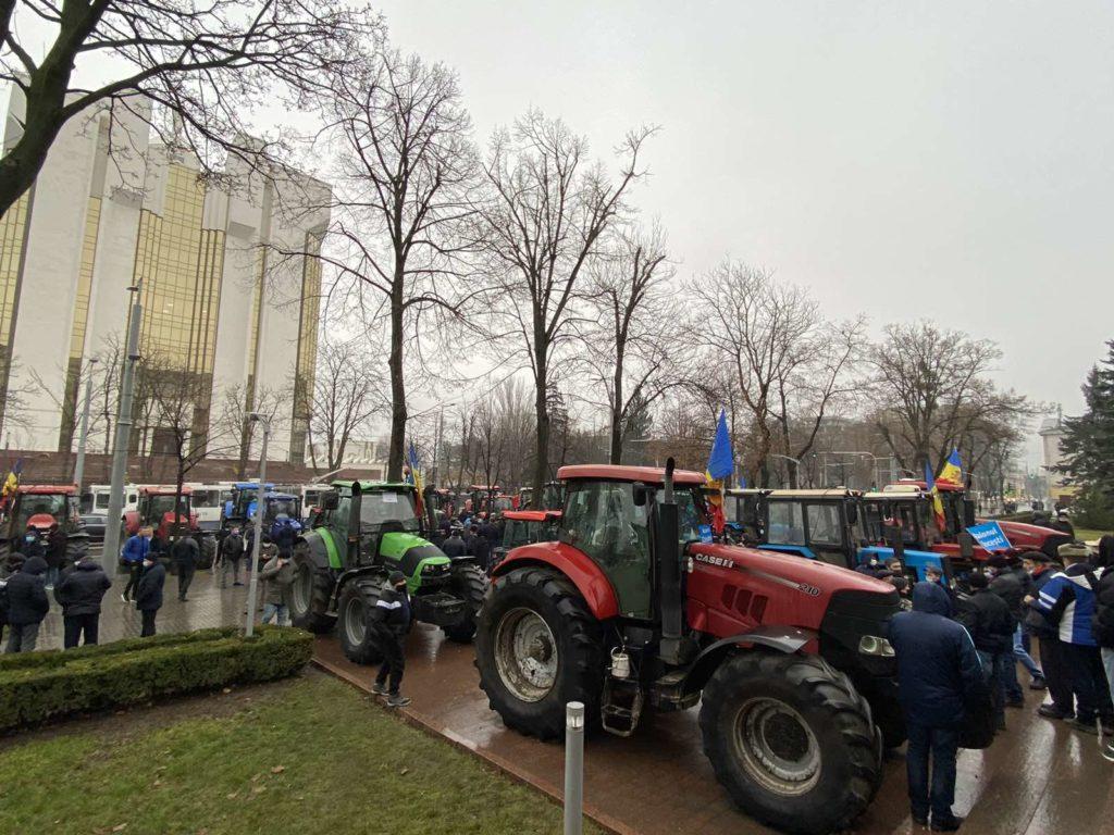 протест фермеров